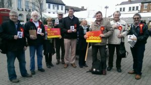 A great day supporting Skipton & Ripon CLP leafleting in all wards
